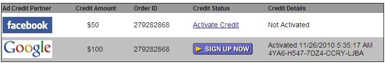 google adwords100美元促销代码 Godaddy主机送的兑换方法
